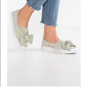 Converse Ctas Knot Slip On Shoes Olive Green